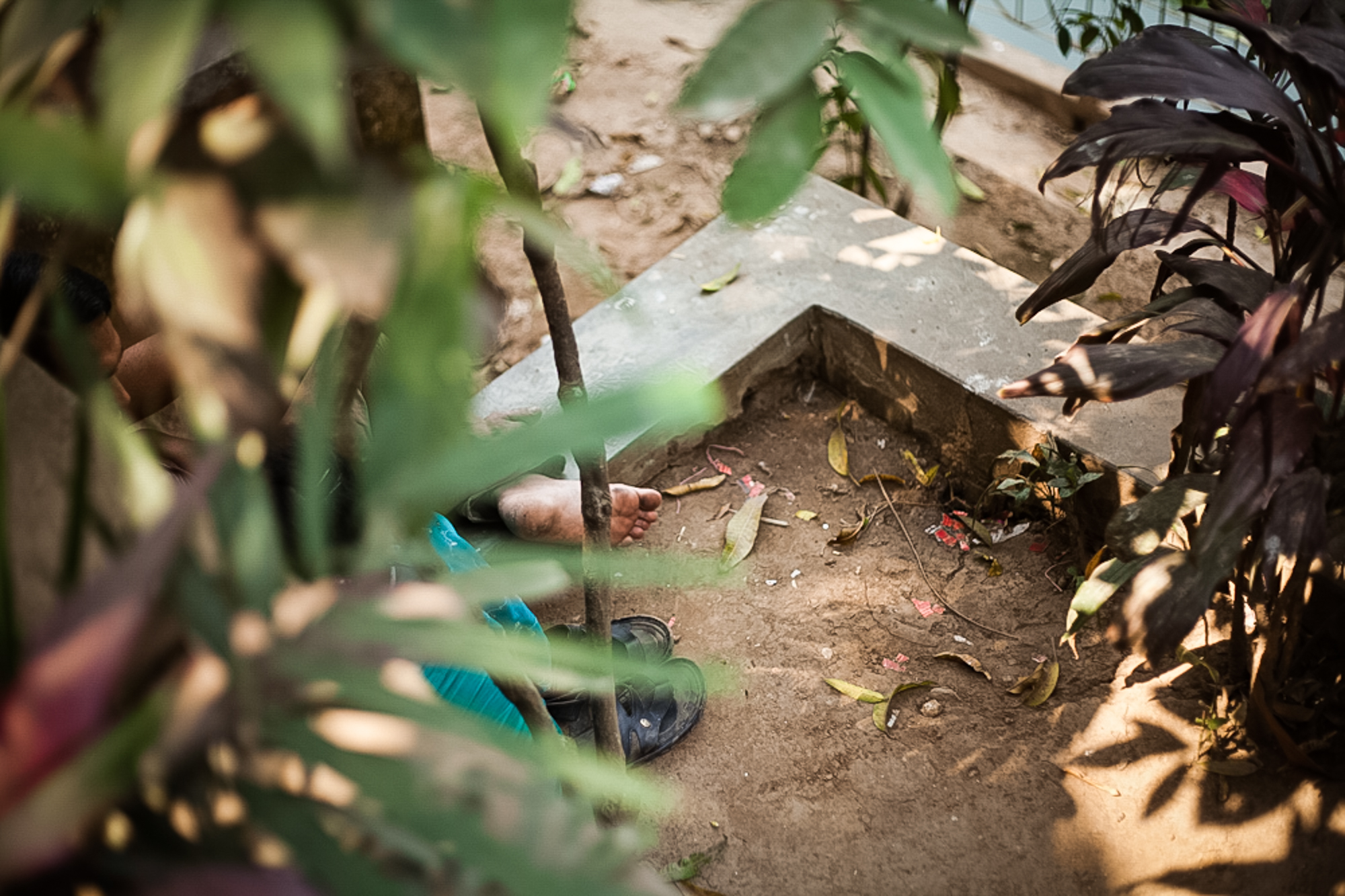 I Baldah garden im alten Dhaka treffen sich sehr viele Paerchen heimlich um sich kennen zulernen oder zu treffen.