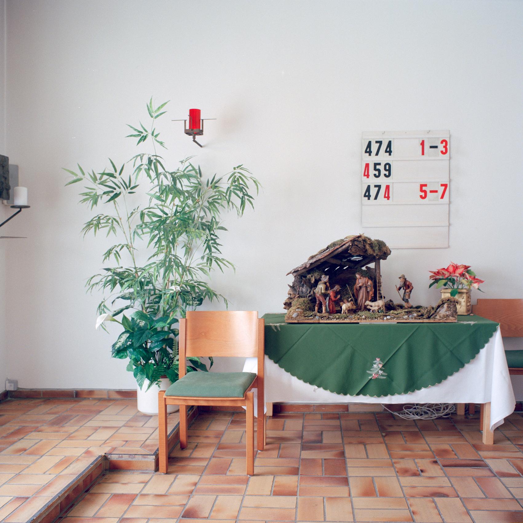 Georg Brauchle Haus, Muenchen. Innenraum in der Kapelle im Georg Brauchle Haus in der Staudingerstrasse 58 in Muenchen am 18. Januar 2011. Fotograf: Evi Lemberger