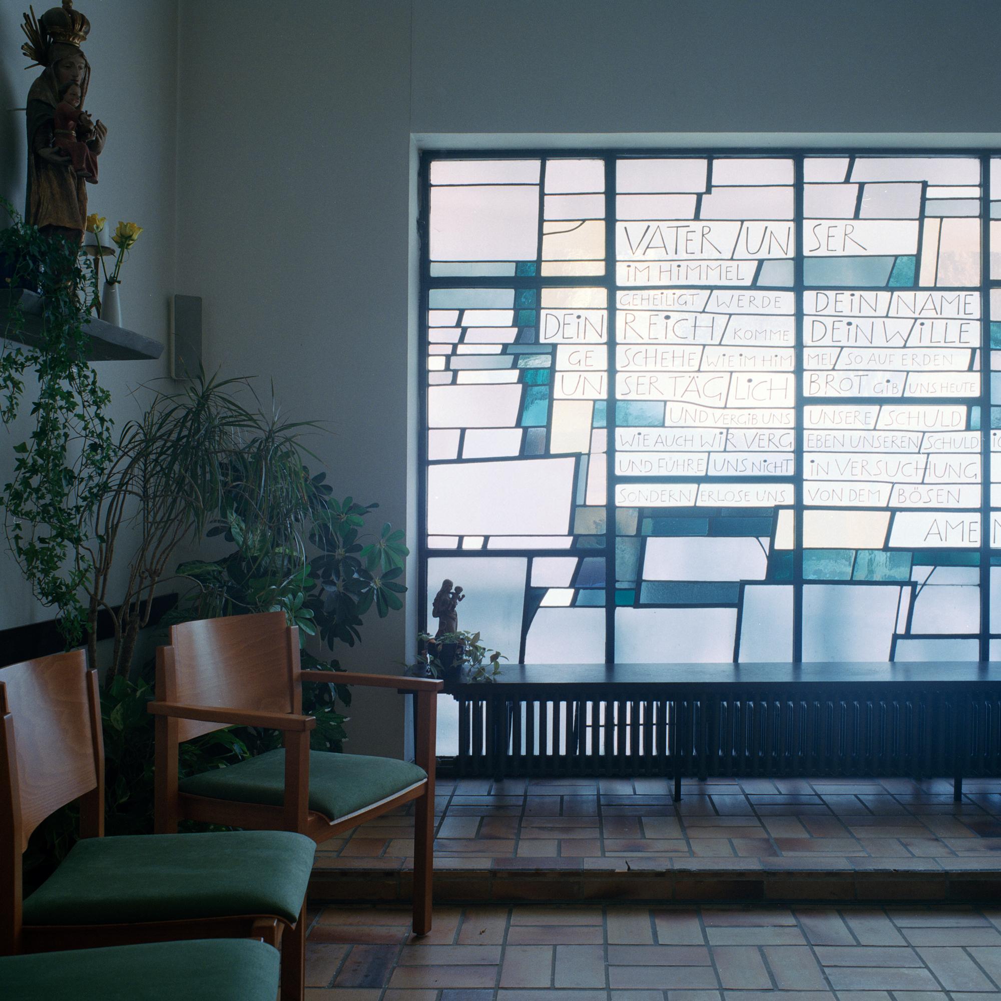Georg Brauchle Haus, Muenchen. Kapelle im Georg Brauchle Haus in der Staudingerstrasse 58 in Munchen am 18. Januar 2011. Fotograf: Evi Lemberger