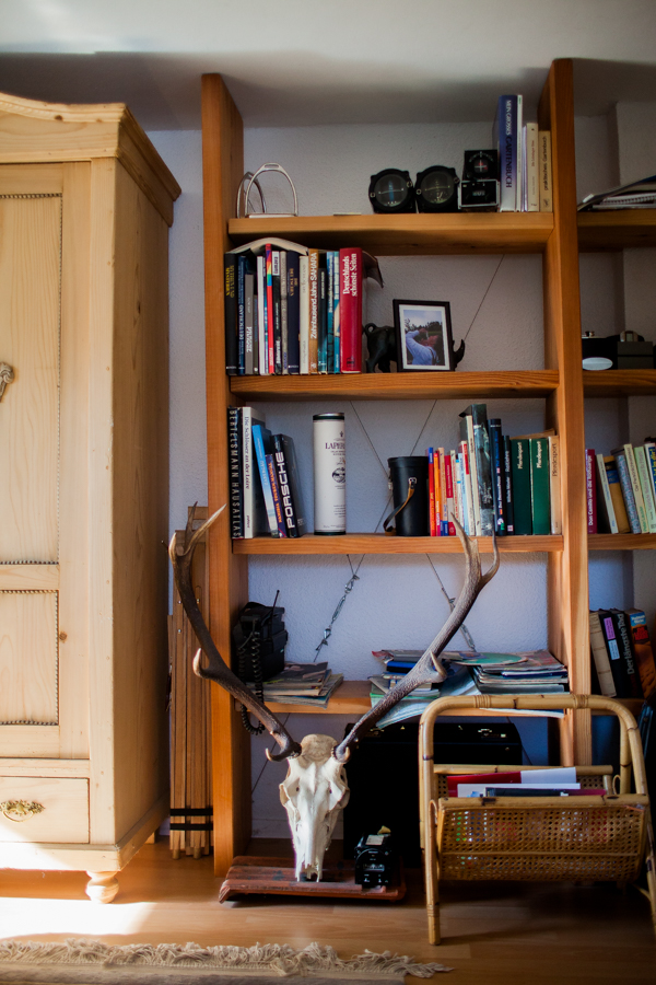 Innenansicht von Wohnzimmer. Innenräume des neuen Wohnhaus von Thomas Stern und Karolin Hirsch.